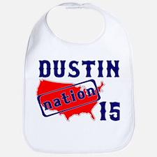 Dustin Nation 15 Bib