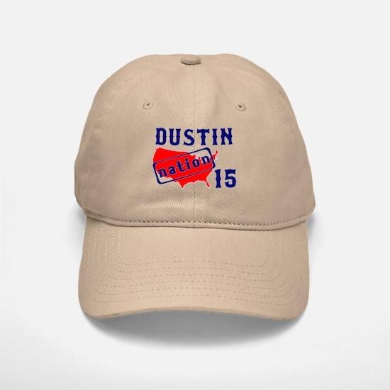 Dustin Nation 15 Baseball Baseball Cap