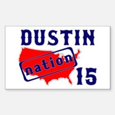 Dustin Nation 15 Decal
