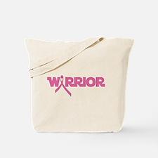 Pink Ribbon Warrior Tote Bag