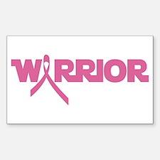 Pink Ribbon Warrior Decal