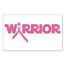 Pink Ribbon Warrior Stickers