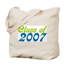Retro Class of 2007 Tote Bag