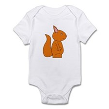 Cute Red Squirrel Infant Bodysuit