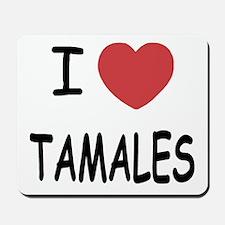 I heart tamales Mousepad