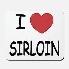 I heart sirloin Mousepad