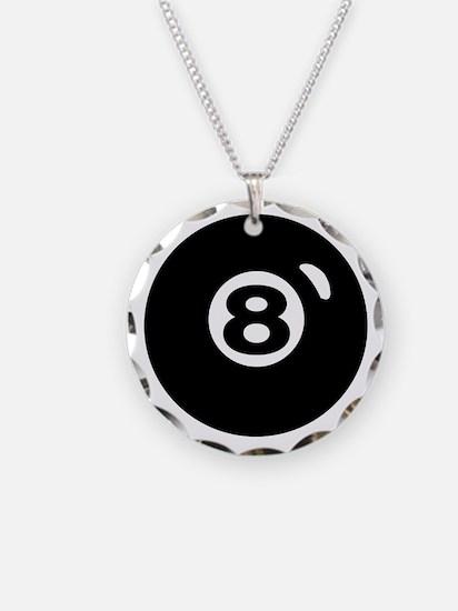 RACK 'EM Necklace Circle Charm