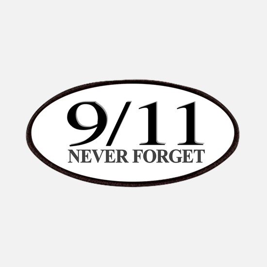 9/11 Never Forget Patches