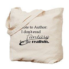 Note to Author Tote Bag