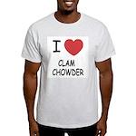 I heart clam chowder Light T-Shirt