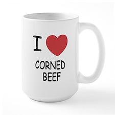 I heart corned beef Mug