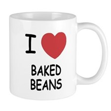 I heart baked beans Mug