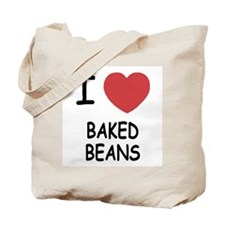 I heart baked beans Tote Bag