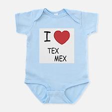 I heart tex mex Infant Bodysuit