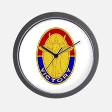 The Fighting First Wall Clock