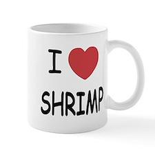 I heart shrimp Mug