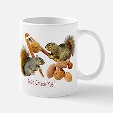 Squirrels Get Cracking Mug
