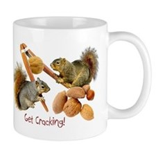 Squirrels Get Cracking Mug