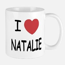 I heart Natalie Mug