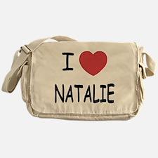 I heart Natalie Messenger Bag
