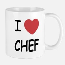I heart chef Mug