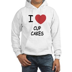 I heart cupcakes Hoodie