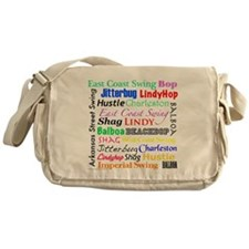 All Swing Dances Messenger Bag
