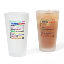 All Swing Dances Drinking Glass