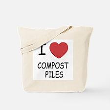 I heart compost piles Tote Bag
