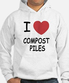 I heart compost piles Hoodie