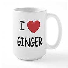 I heart ginger Mug