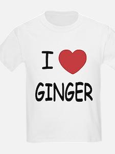 I heart ginger T-Shirt