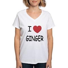 I heart ginger Shirt