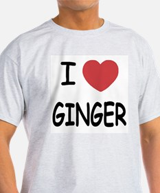 I heart ginger T-Shirt