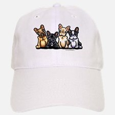 Four Frenchies Baseball Baseball Cap