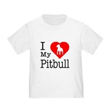 I Love My Pitbull Terrier T
