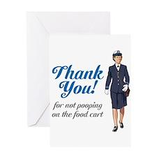 Poo'd Cart Greeting Card