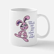 Cute Angry Bunny Mug