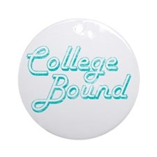 College Bound Ornament (Round)