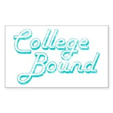 College Bound Rectangle Decal