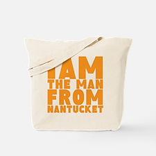 Nantucket Man Tote Bag