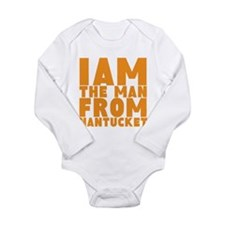 Nantucket Man Long Sleeve Infant Bodysuit