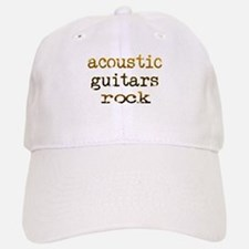 Acoustic Guitars Rock Cap