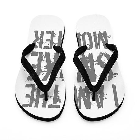 Smoke Monster Flip Flops