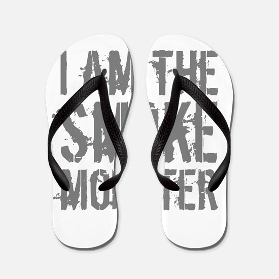 Smoke Monster Flip Flops