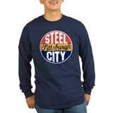 Pittsburgh Long Sleeve T-shirts (Dark)