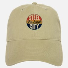 Pittsburgh Vintage Label Baseball Baseball Cap