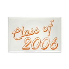 Faded Class of 2006 Rectangle Magnet