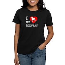 I Love My Rottweiler Tee
