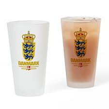 Denmark COA Drinking Glass